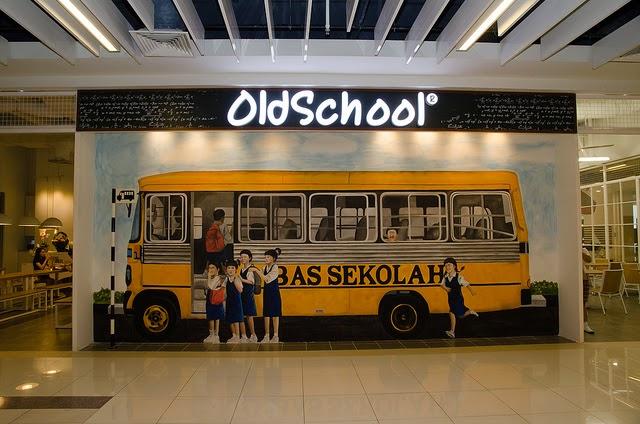 Old School at The School Interior